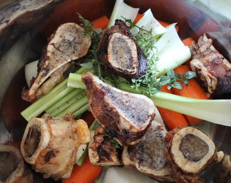bones and veggies broth