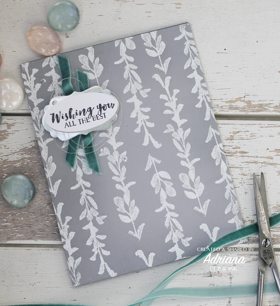 Stampin' Up! First Frost stamp set