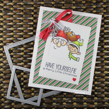 MFT Christmas sELFies Christmas Card