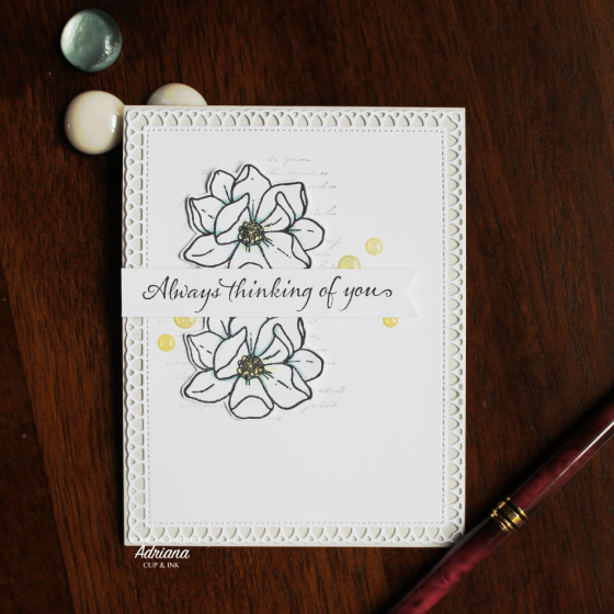 Very Versailles by Stampin' Up!, Magnolia by Jane's Doodles