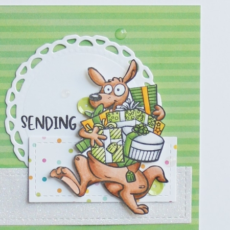 Birthday Greeting Card by Adriana cupandink.com