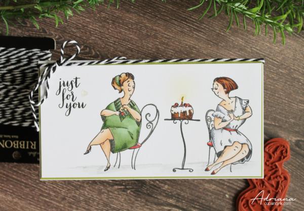 katzelkraft birthday card by Adriana cupandink.com